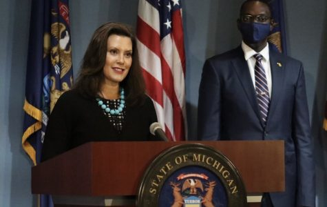 Gretchen Whitmer's instagram post on the day she launched Future For Frontliners.