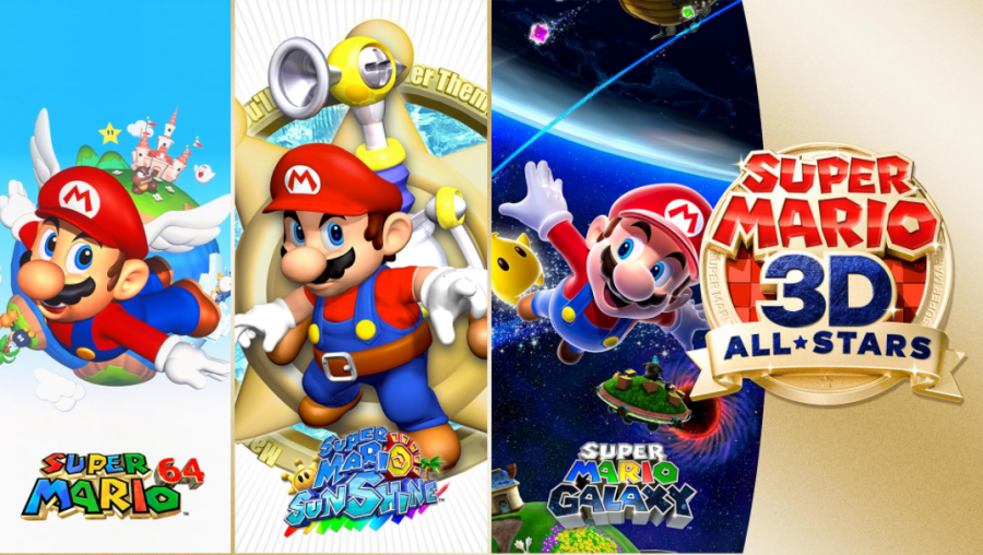 Super+Mario+3D+All-Stars+Box+art+and+revealed+games.
