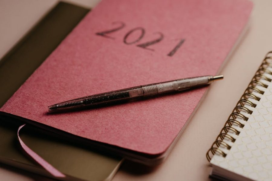 Writing your resolutions down is a good way to hold yourself accountable.
