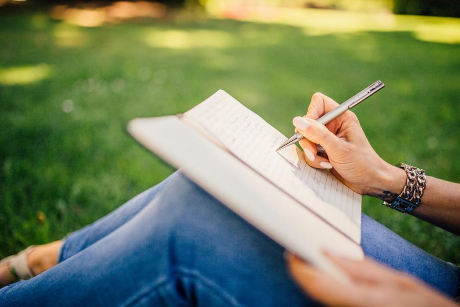 Journaling is a great way to practice expressing gratitude.