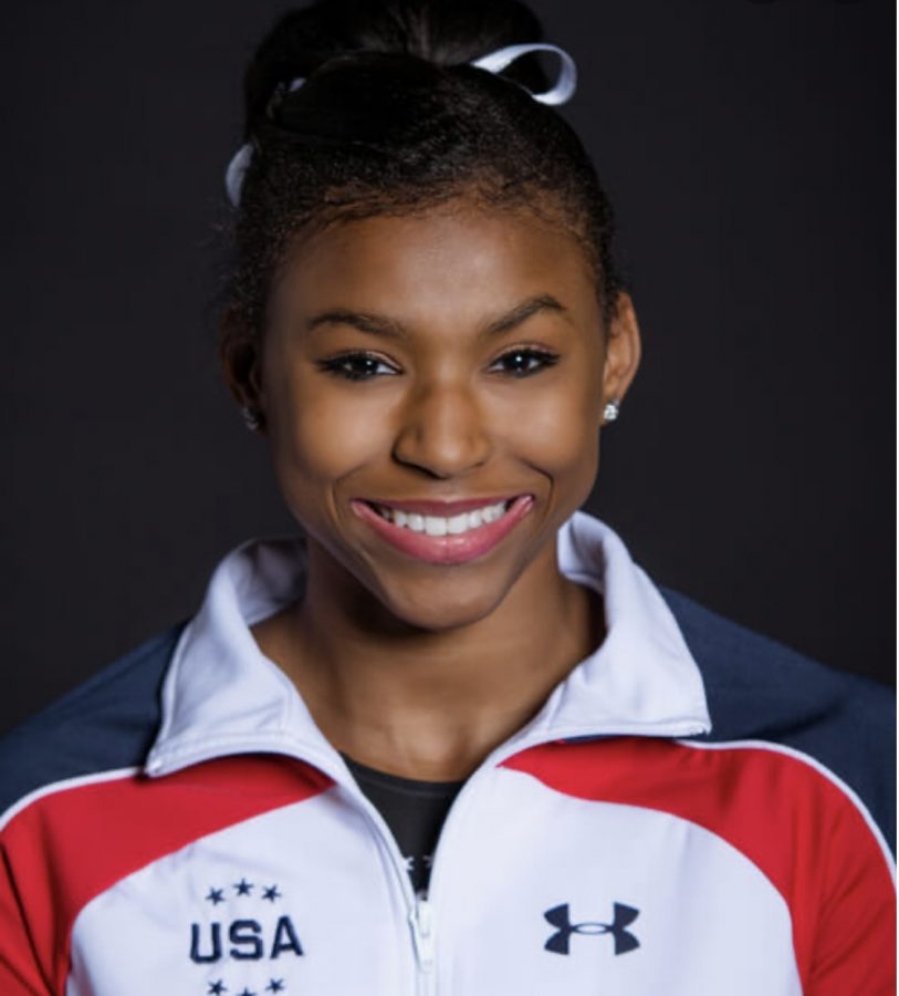 Nia Dennis Inspires Many With Powerful Floor Routine